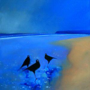 3-birds-in-the-wet-sand