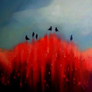 Birds-Blossoms