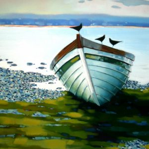 Boat-by-the-Pebble-Strand