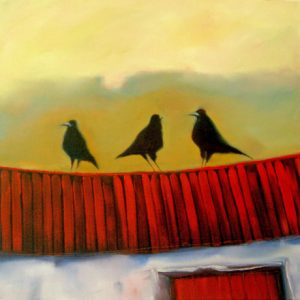 Crows-on-the-Barn-Roof