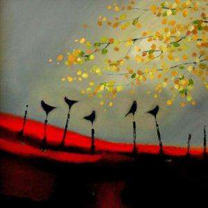 Evening-by-the-Birch-Tree