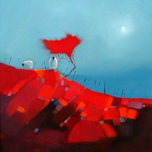 Moonlight on the Red Bog