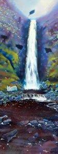 Morning-Mist-Glenevin-Waterfall-384x1024